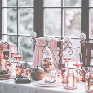 昼間のクリスマスのテーブル2