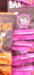 ピンクのパッケージのお菓子1