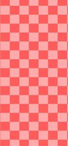ピンクの格子柄1