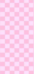 ピンクの格子柄2