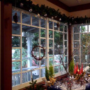 洋館とクリスマスリース3