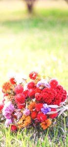 ナチュラルな花束1