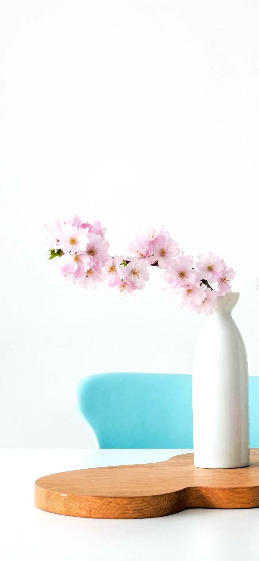 部屋に飾った桜3