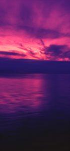 紫色の海と空3