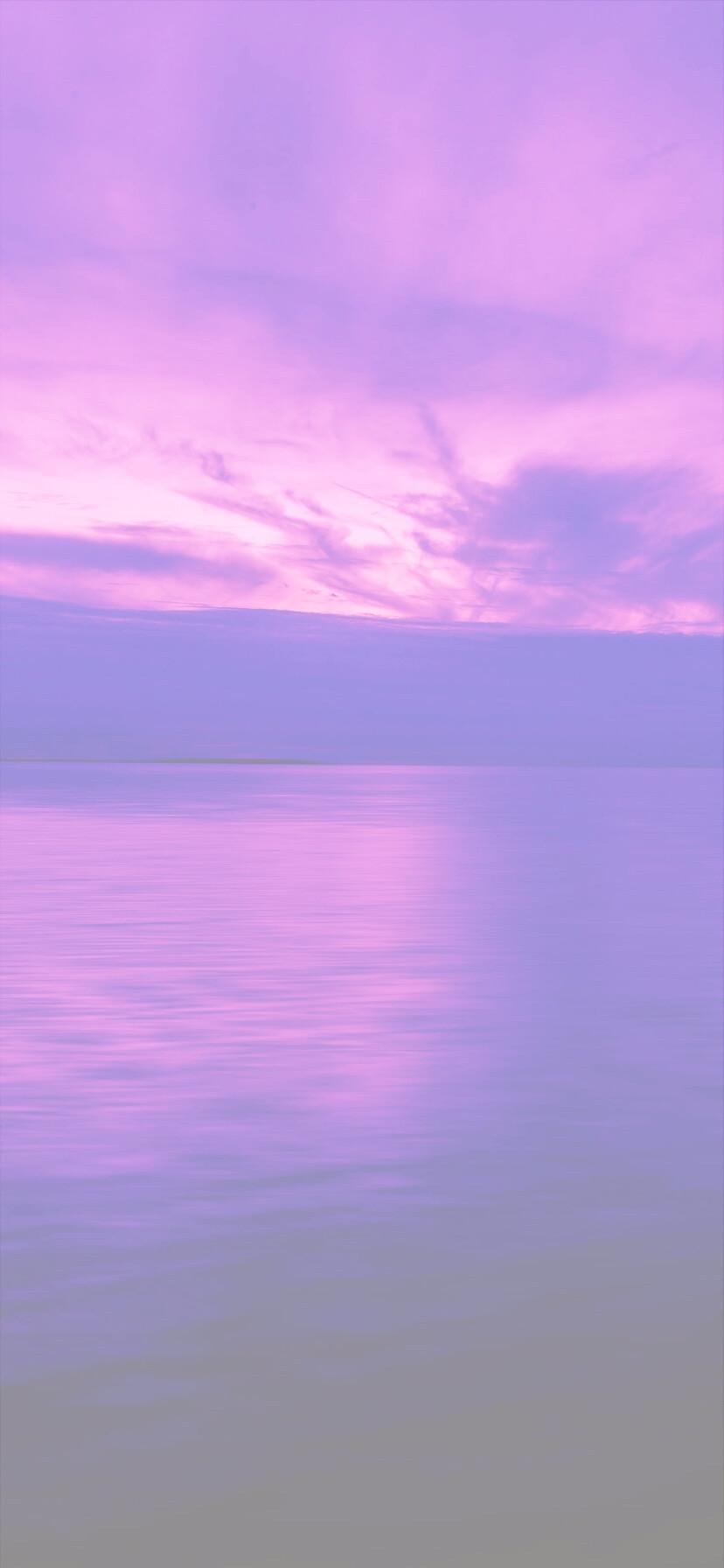 Iphone11 Iphonexrのシンプルな紫の無料壁紙 Time Fun Fun