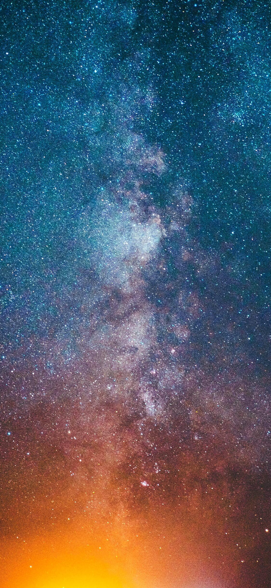 ブルーの星空1