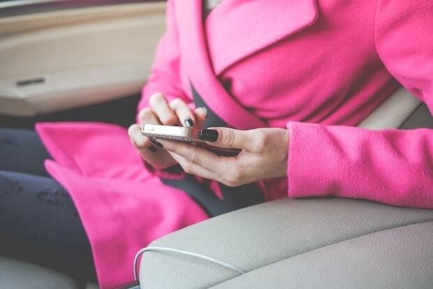 iPhone8・7・6・6sPlusの可愛いピンクの無料壁紙・待ち受け配信中