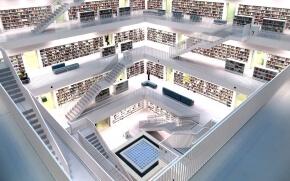白い図書館