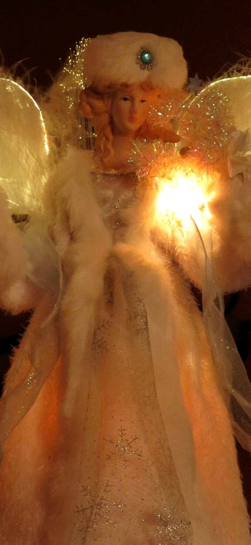 白いドレスの天使