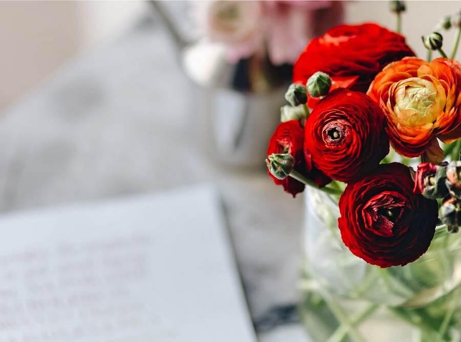 iPad11インチのシンプルな花の無料壁紙が取り放題!