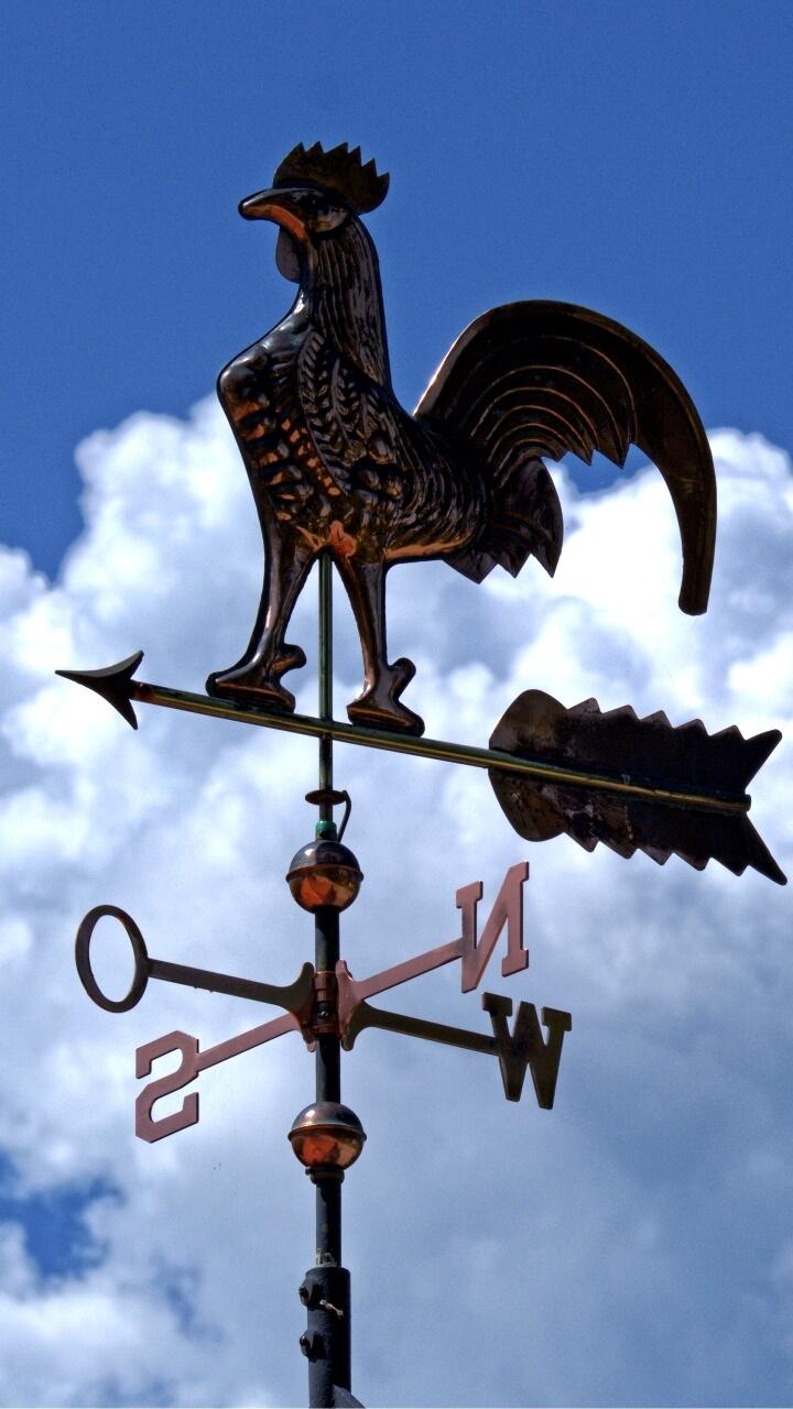 空と風見鶏