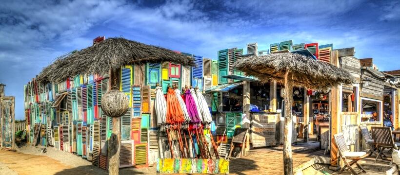 夏のビーチハウス