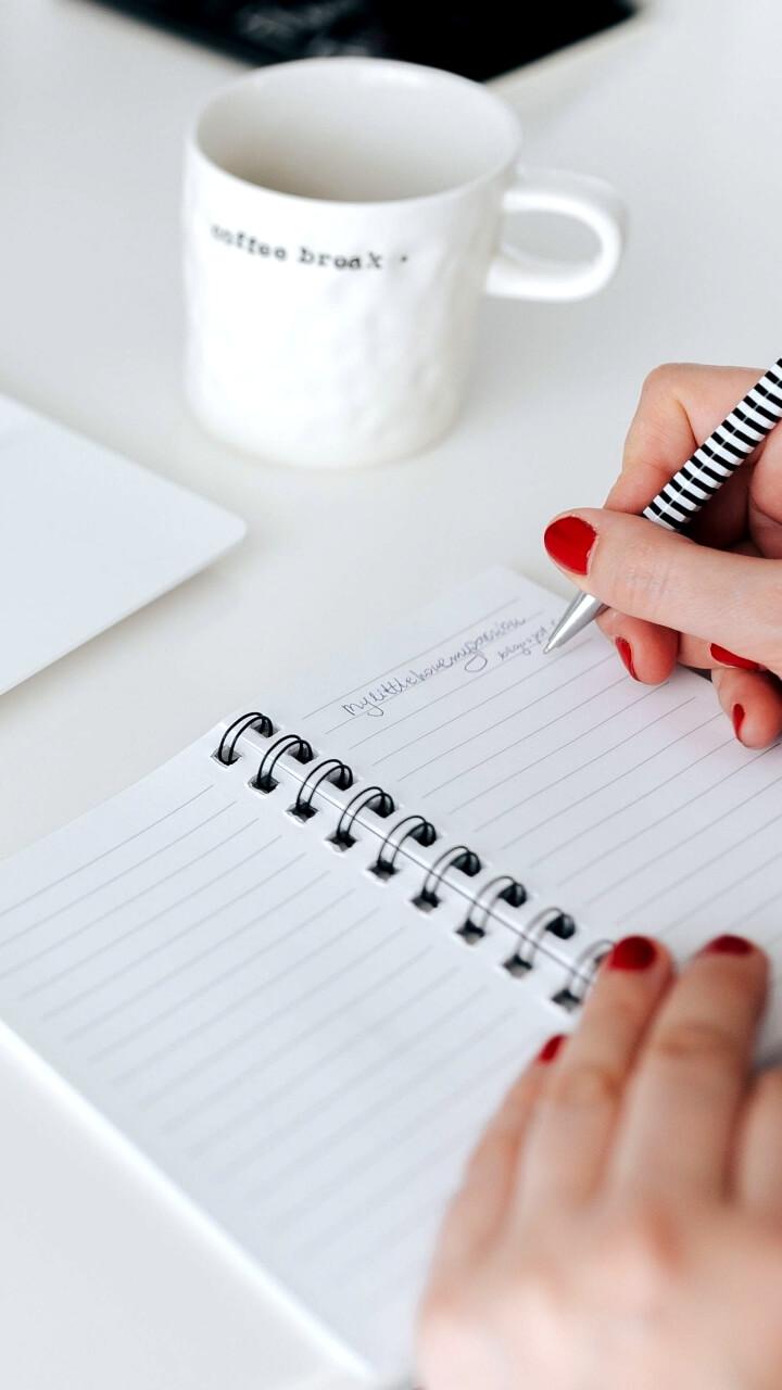 白いノート