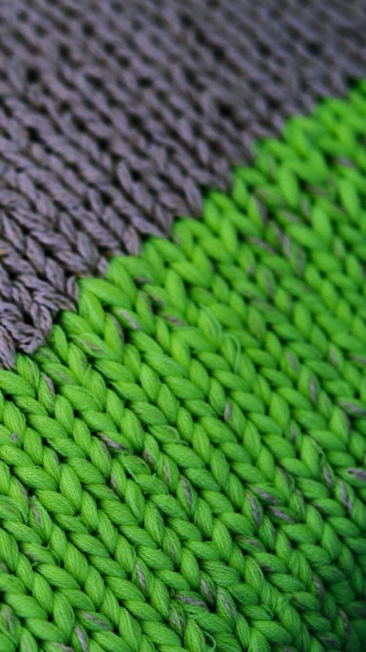 緑の編み目