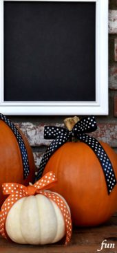 リボンとかぼちゃ