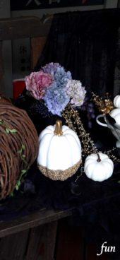 落ち着いたハロウィンの飾り