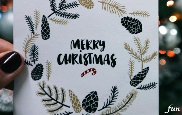 iPhone8・7・6・6sPlusのロック画面等シンプルなクリスマス無料壁紙