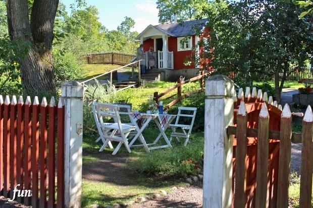 LINEの北欧・スエーデンの風景のプロフィール背景フリー画像を配信中