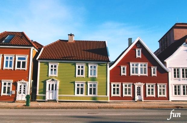 LINEプロフィール背景用北欧・ノルウェーの風景フリー画像