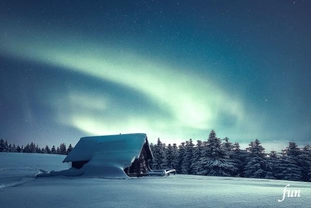 LINEプロフィール背景サイズの北欧・フィンランドの風景フリー画像