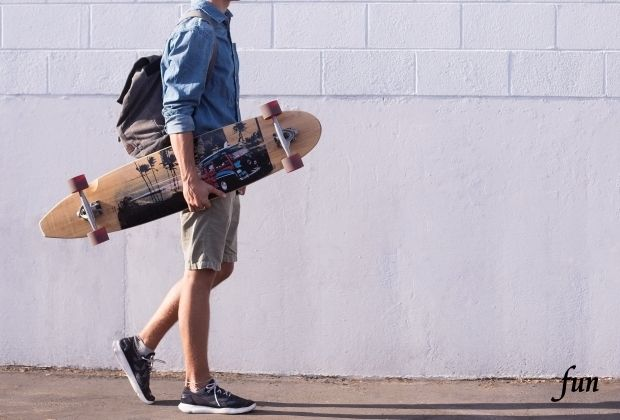 iPhone8・7・6・6S・SE2ロック画面等のスケートボードの無料壁紙を配信中